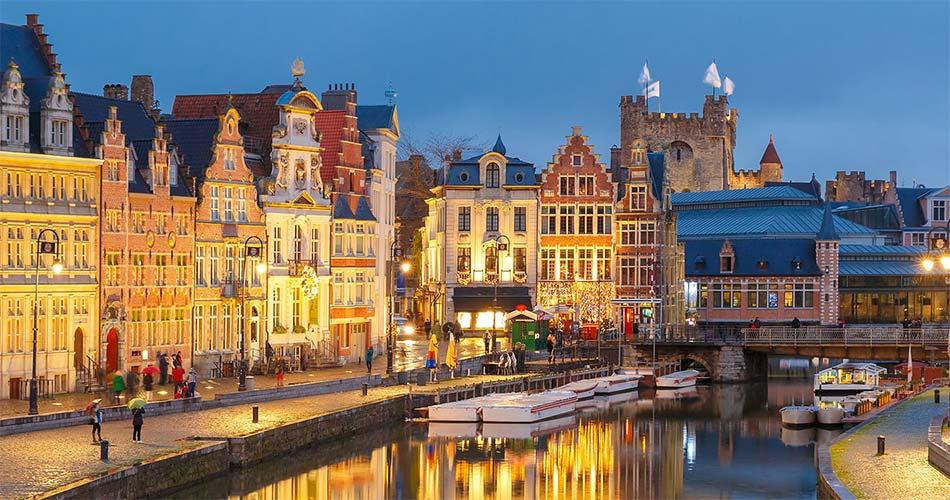 Самые красивые места и направления в Бельгии