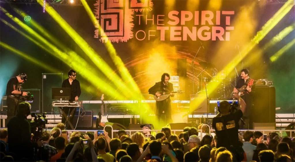 Музыкальный фестиваль Дух Тенгри в Алма-Ате
