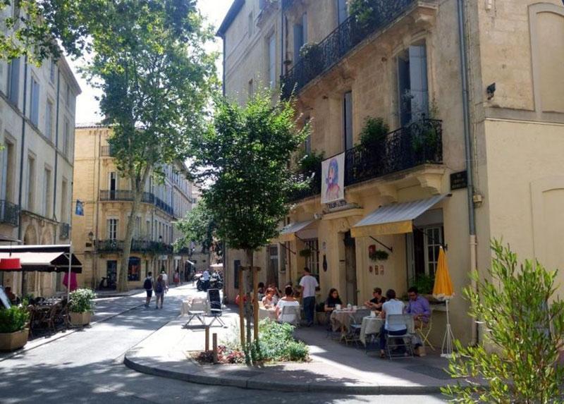 один из самых старых отелей в Монпелье - DU PALAIS