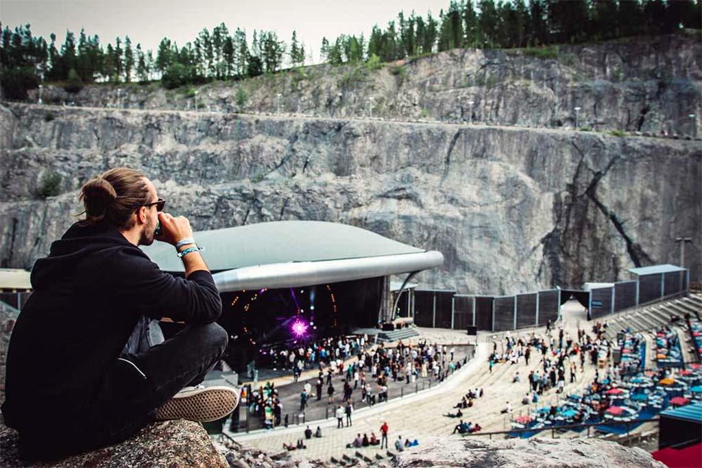 Фестиваль электронной музыки Into the Valley в Румму