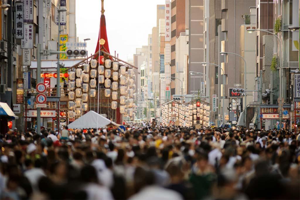 Фестиваль Гион Мацури в Киото