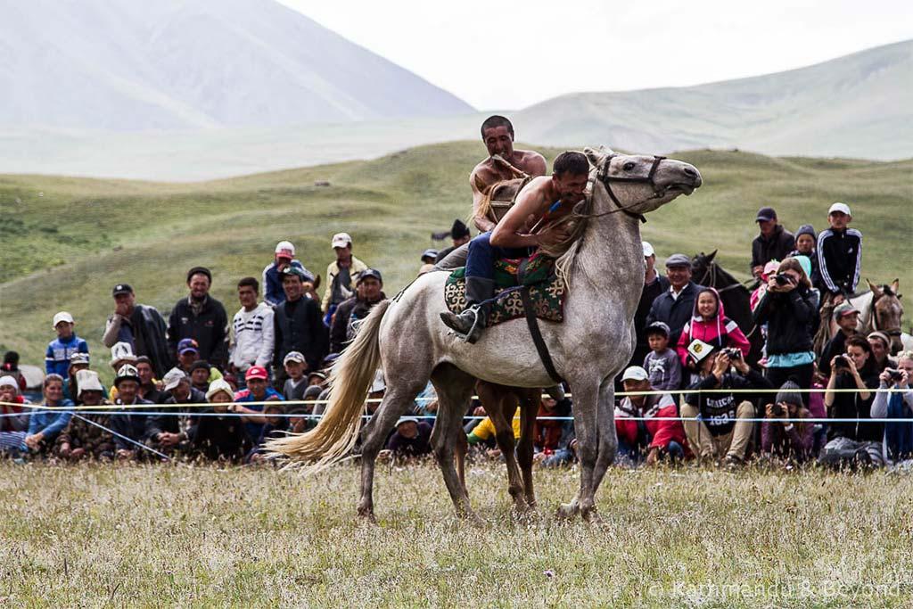Фестиваль национальных конных игр в Киргизии