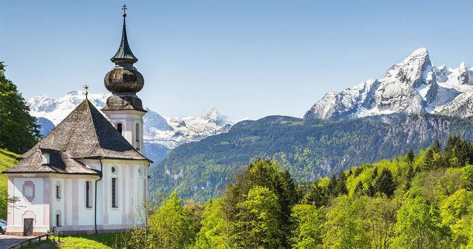 Самые красивые места и направления в Германии