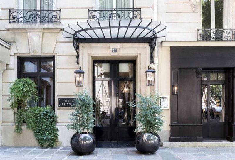 Роскошный бутик отель парижа - RÉCAMIER