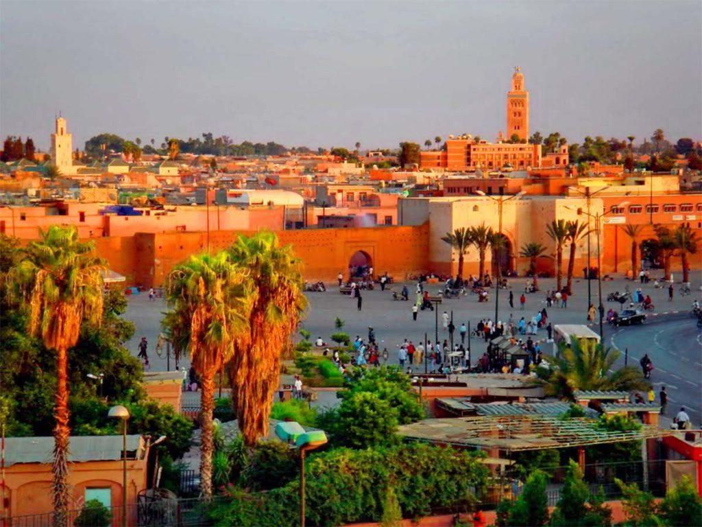 Самые лучшие отели с видом на Марракеш