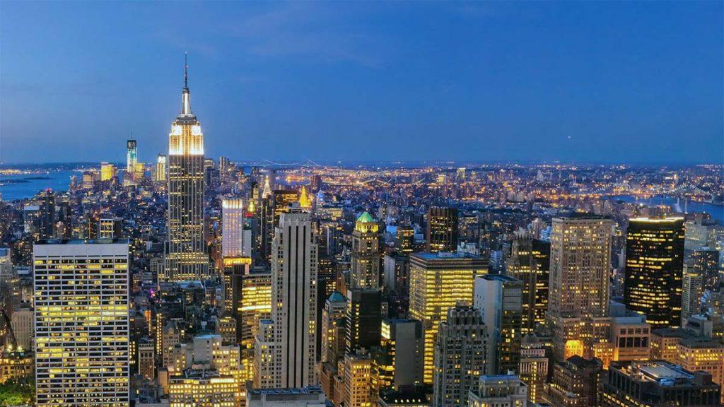 Самые лучшие отели с видом на Нью-Йорк