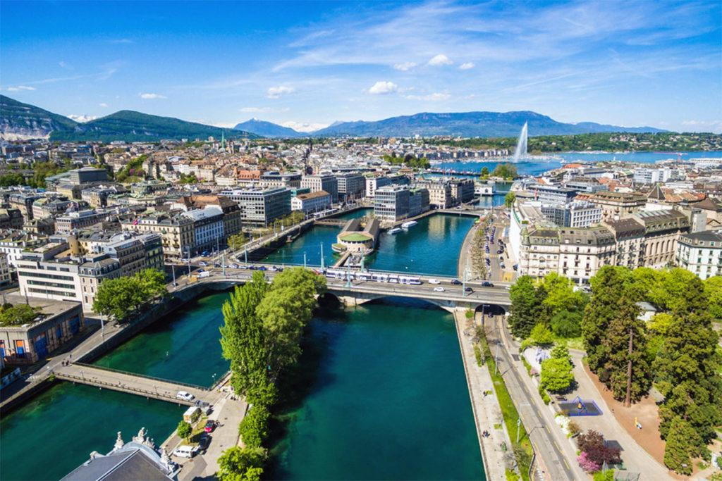 7 самых романтических отелей в Женеве