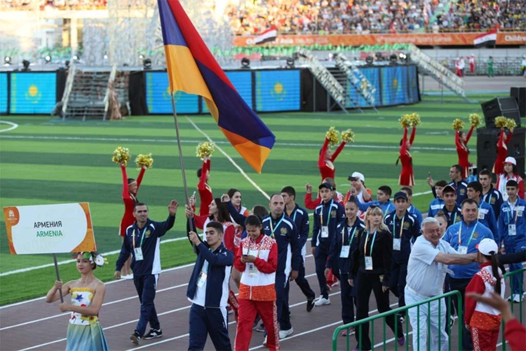Международные спортивные игры Дети Азии в Улан-Баторе