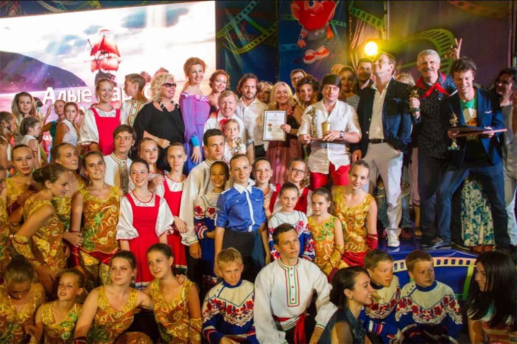 Международный детский кинофестиваль Алые паруса в Артеке