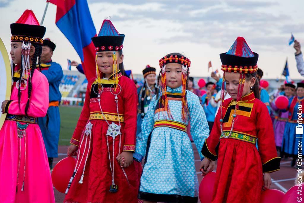 Международный всебурятский фестиваль Алтаргана