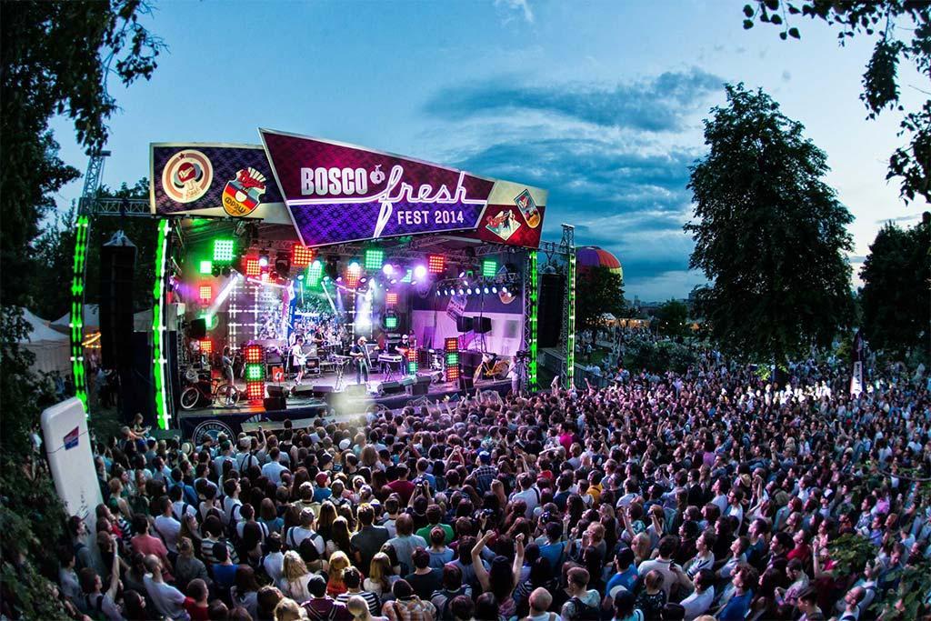 Музыкальный фестиваль Bosco Fresh Fest в Москве