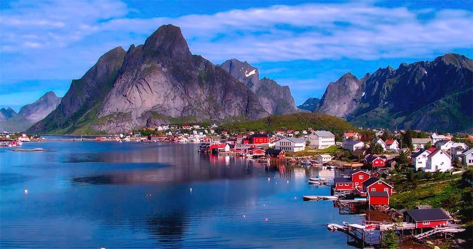 Самые красивые места и направления в Норвегии