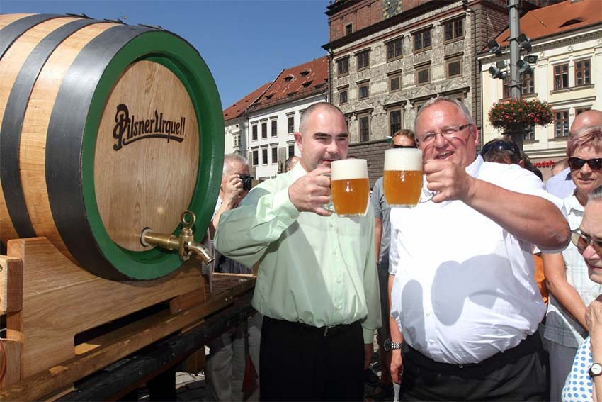 Фестиваль пива Pilsner Fest в Пльзене