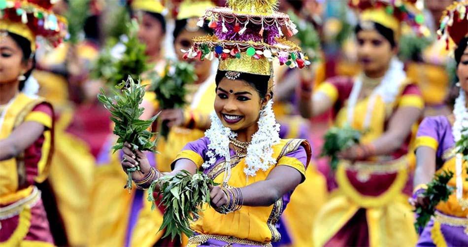 Праздник Дурутху Перахера в Коломбо