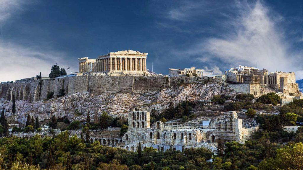 Самые лучшие отели с видом на Афины