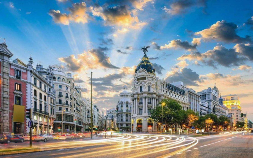 Самые лучшие отели с видом на Мадрид