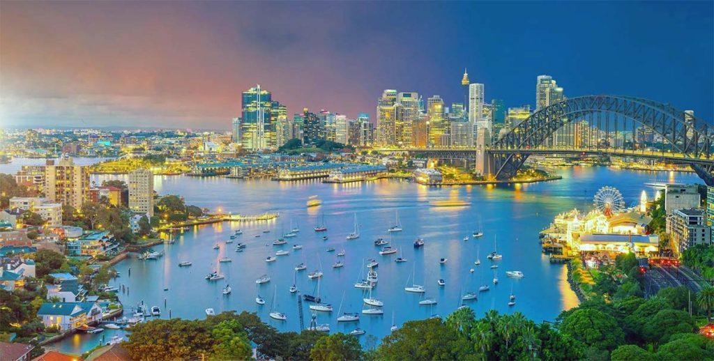 самые лучшие отели с видом на Сидней
