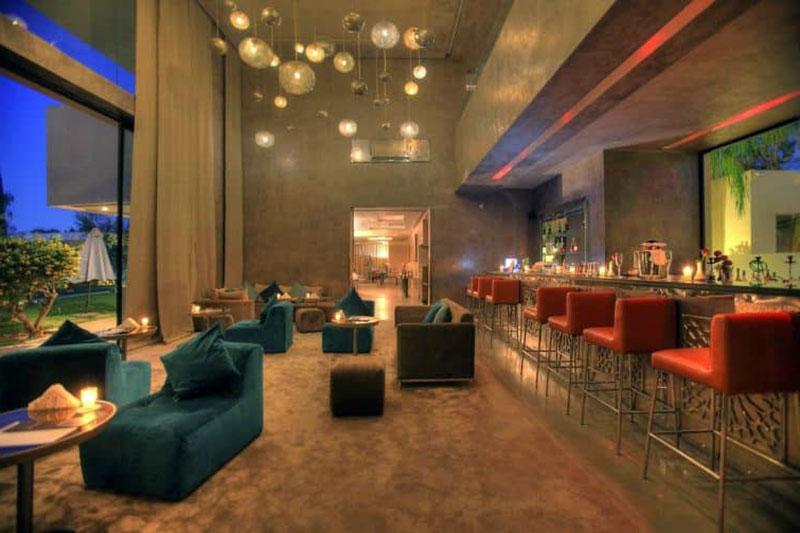 Самый роскошный бутик отель Марракеша - SIRAYANE