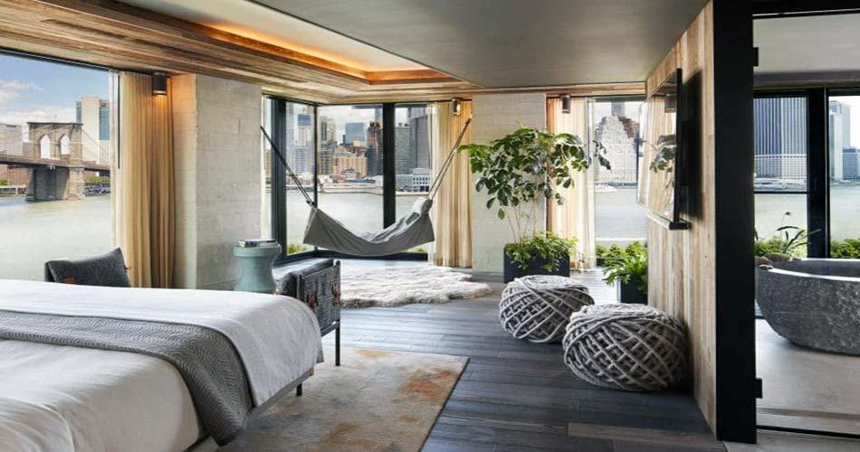 Представительский отель с видом на Нью-Йорк - Brooklyn Bridge