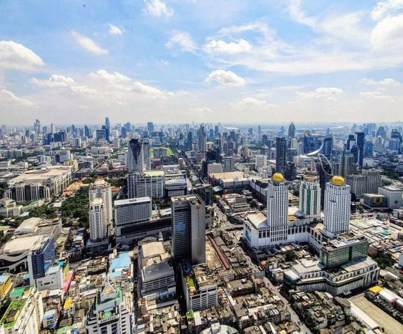 Изящный отель с видом на Бангкок - Baiyoke Sky