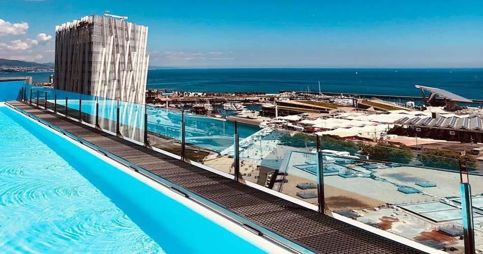 Элитарный отель с видом на Барселону - Barcelona Princess