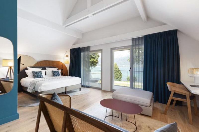 Высококлассный романтический отель Анси - Black Bass