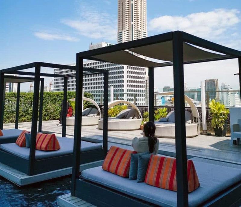 Роскошный отель с видом на Бангкок - Centara Watergate Pavillion