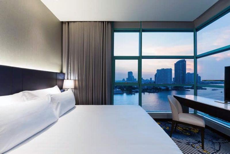 Спокойный отель с видом на Бангкок - Chatrium Hotel Riverside