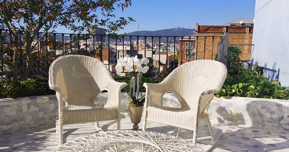 Бесподобный отель с видом на Барселону - El Palauet