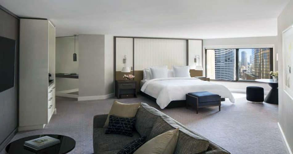Красочный комплекс красочным видом на город - Four Season Hotel Sydney