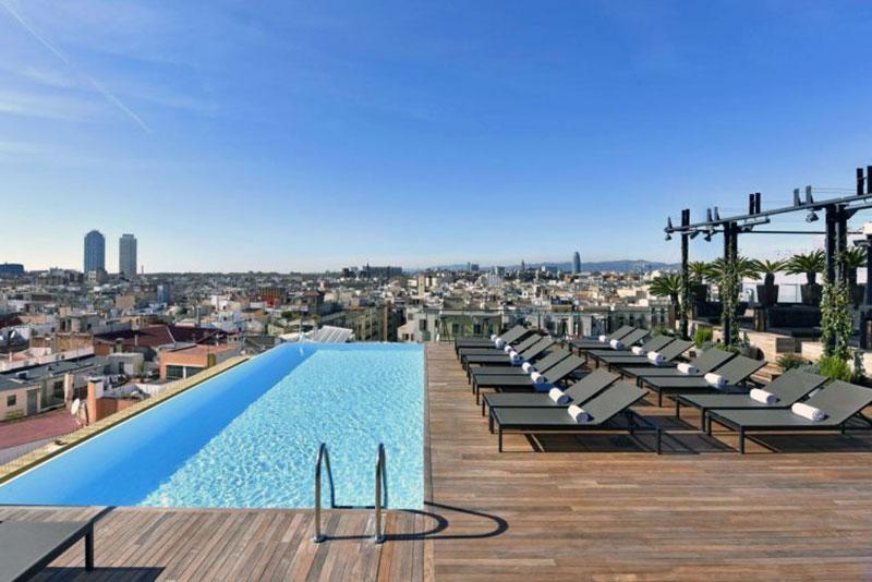 Комфортабельный бутик отель Барселоны - Grand Central