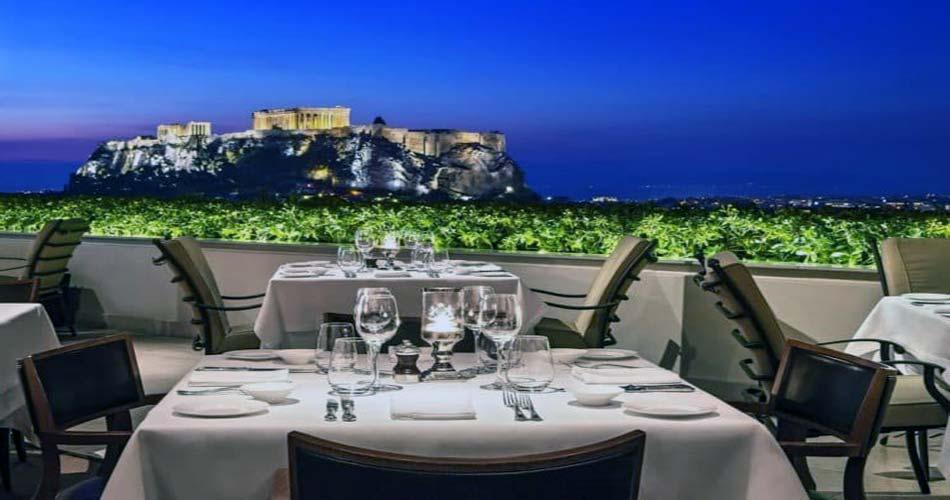 Чудный комплекс с видом на Афины - Grande Bretagne