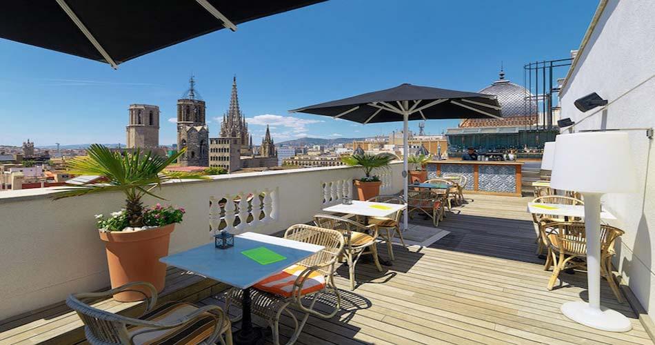 Привилегированный отель с видом на Барселону - H10 Montcada