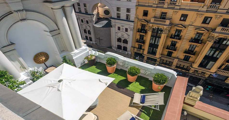 наилучший комплекс с видом на Мадрид - H10 Villa de la Reina