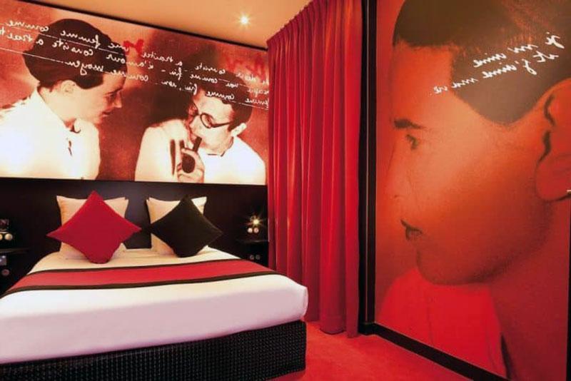 Сказочный романтический отель Парижа - Montmartre Mon Amour