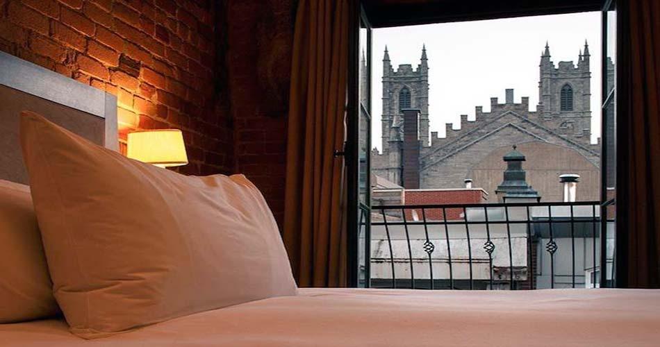 Крутой отель с видом на Монреаль - Nelligan