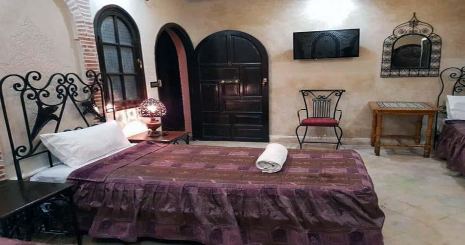 Фешенебельный отель с видом на Марракеш - Hotel Salsabil