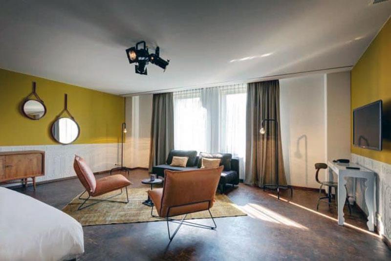 Высококласный бутик отель Амстердама - V Nesplein