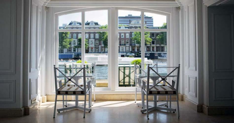 Помпезный комплекс с видом на Амстердам - InterContinental Amstel