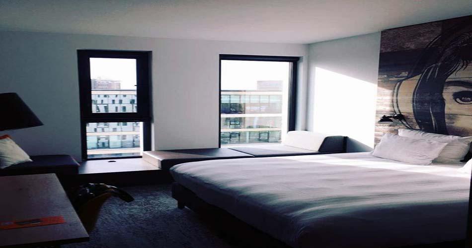 Комплекс не имеющей себе равных с видом на Амстердам - Jaz Hotel Amsterdam