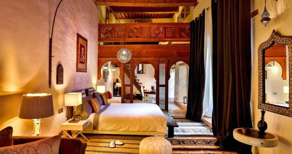 Люксовый риад для сна в Фесе -Karawan Riad