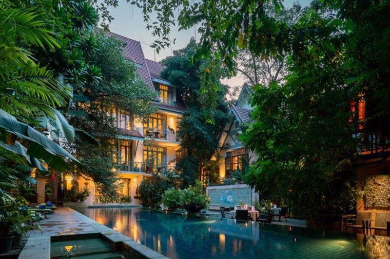 Спокойный романтический отель Бангкока - La Ariyasom Villa