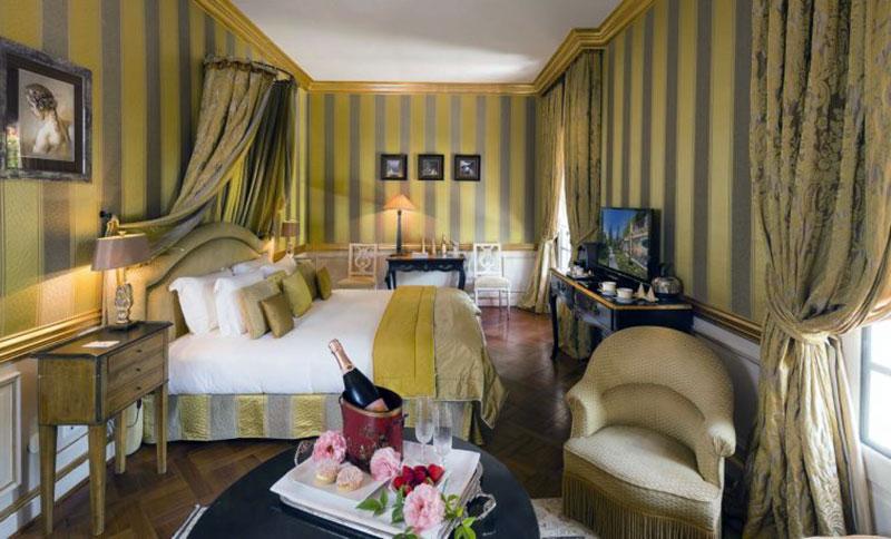 Романтический отель премиум класса Экс-ан-Прованса - La Villa Gallici