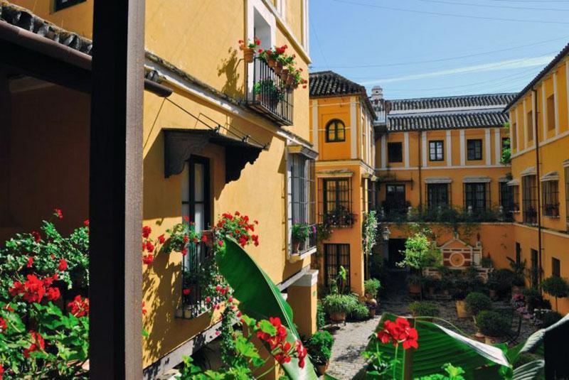 роскошный бутик отель Севилье - Las casas de Juderias