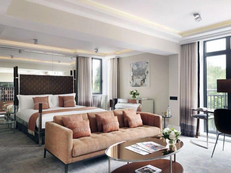 Красивый романтический отель Лондона - The Athenaeum
