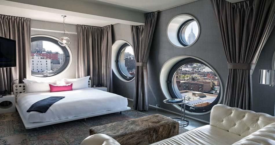 Чудный отель с видом на Нью-Йорк - Dream Downtown