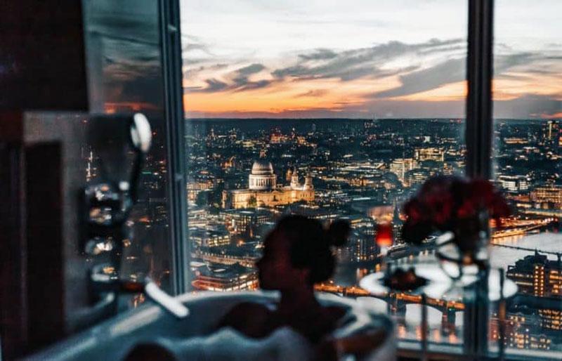 Божественный романтический отдых Лондона - Shangri-La