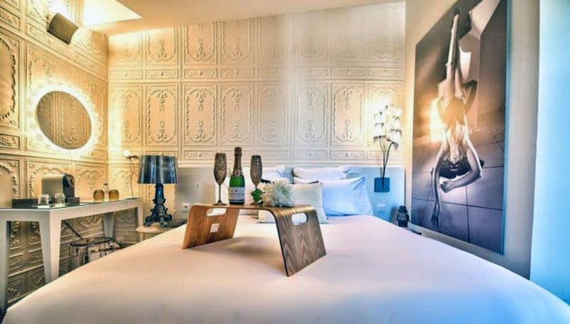 Роскошный романтический отель Тулузы - des Beaux-Arts