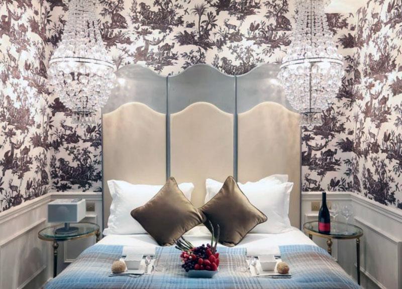 Шикарный романтический отель Парижа - Maison Favart