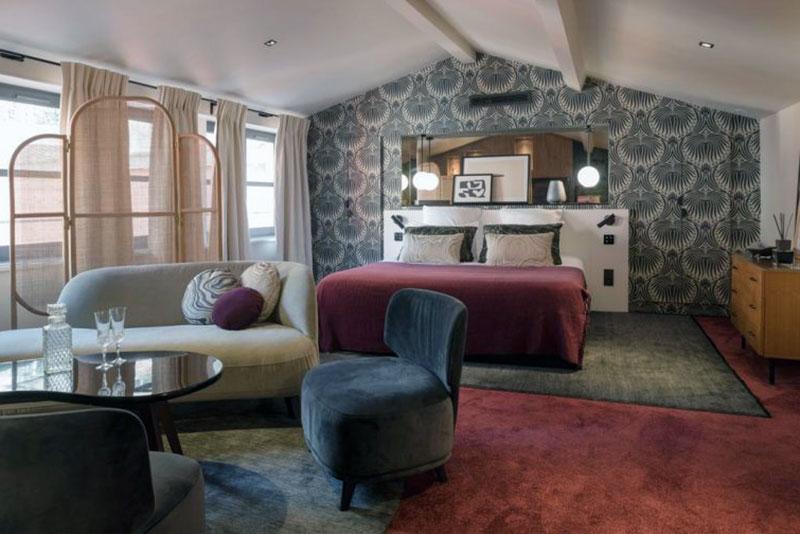 Очаровательный романтический отель Лиона - La Tour Rose